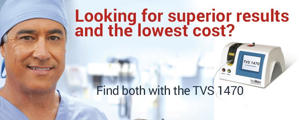 Looking for superior results and the lowest cost? Find both with the TVS 1470.